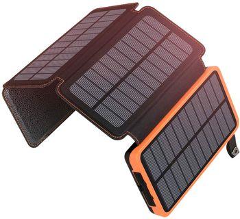 ADDTOP Chargeur Solaire 25000mAh Portable Batterie Externe
