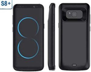 Mbuynow Coque Batterie Externe 5500mAh pour Samsung Galaxy S8 Plus