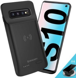 Samsung Galaxy S10 Coque batterie Qi compatible