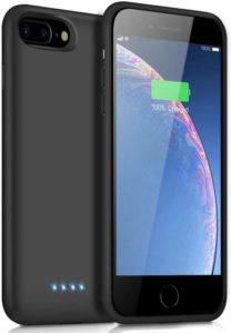iPosible coque batterie pour iphone 6 Plus-7 Plus-8 Plus-6s Plus