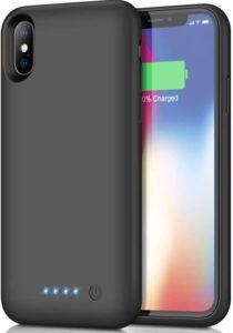 kilponen Coque Batterie pour iPhone X XS 10