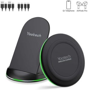 yootech Chargeur Induction 10W