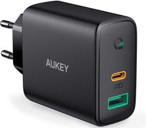 AUKEY-USB-C-Chargeur-Secteur