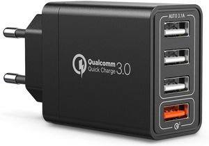 IWAIVON-Chargeur-Secteur-USB-Quick-Charge-3