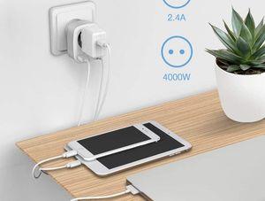 TESSAN-chargeur-secteur-2-Ports-USB-1-Sortie-AC